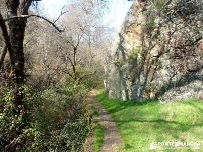 Cañón Río Aulencia-Embalse Valmenor; nudos montaña foros montaña ruta peña trevinca parque nat